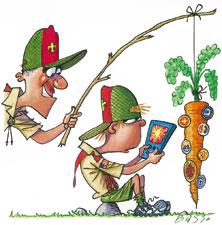 Boy Scout Image -- Advancement