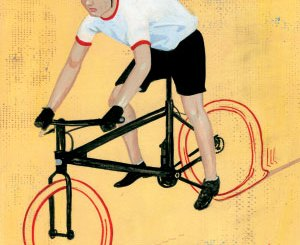 Boy Scout Image -- Bike Tire