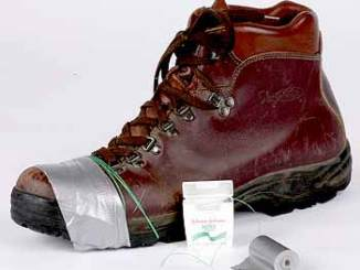 Boy Scout Image -- Boot