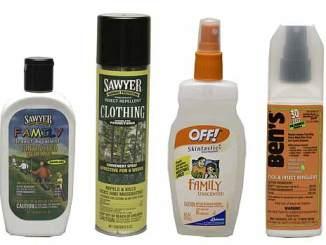 Boy Scout Image -- Bug Spray