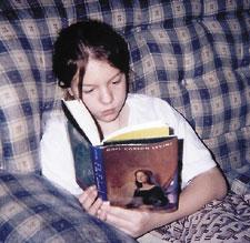 Boy Scout Image -- Child Reading