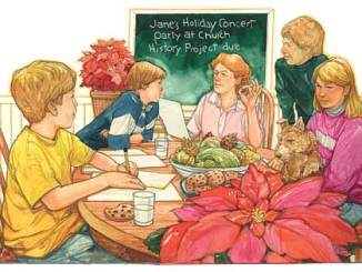 Boy Scout Image -- Holiday Busyness