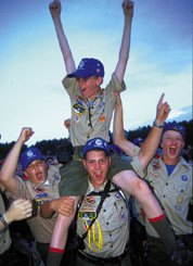 Boy Scout Image -- Jamboree Fun