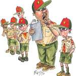Boy Scout Image -- Mean Scouts