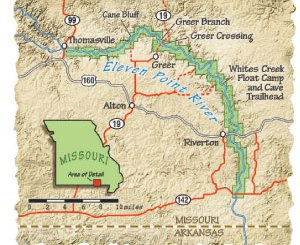 Boy Scout Image -- Missouri Map