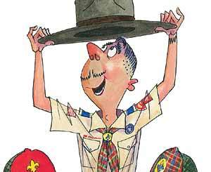 Boy Scout Image -- New Scoutmaster