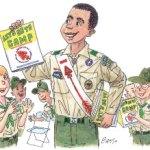 Boy Scout Image -- OA Participation