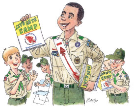 Boy Scout Image -- OA Participation