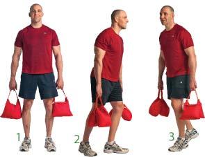 Boy Scout Image -- Sandbag fitness