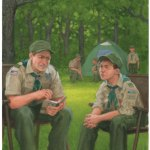 Boy Scout Image -- Scoutmaster Conference
