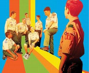 Boy Scout Image -- Shy