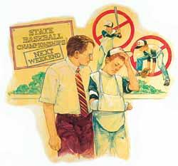 Boy Scout Image -- Suicide
