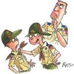 boy Scout Image -- Behavior Issues