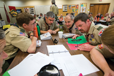 Wood Badge Team Building