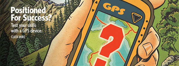 Positioned for success? Test your skills with a GPS device