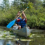 Canoe Base Canoeing