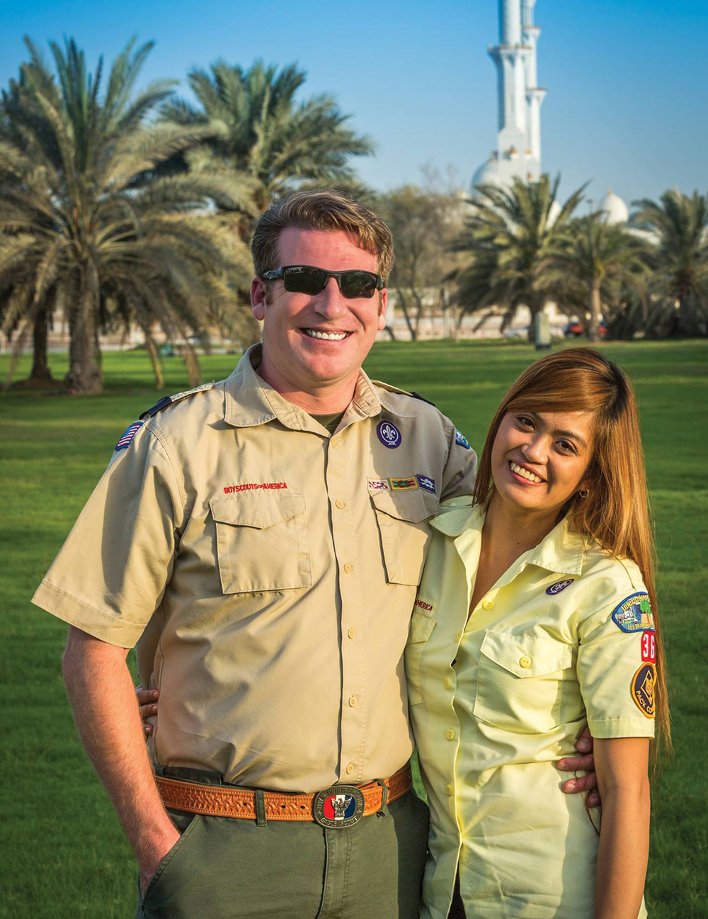 How one leader makes Scouting work overseas in the United Arab Emirates