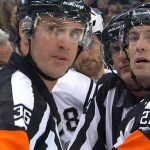 Tonight's NHL Referees & Linesmen – 10/25/16