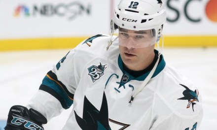 No Suspension for Sharks' Marleau After Rust Hit