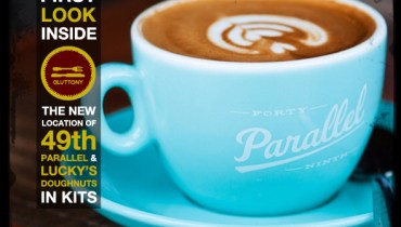 DINER: First Look Inside The New Kitsilano Digs Of 49th Parallel & Lucky's Doughnuts