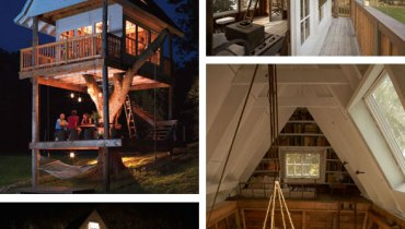 COOL THING WE WANT #430 | This Lovely Three-Storey Treehouse In Rural Wisconsin