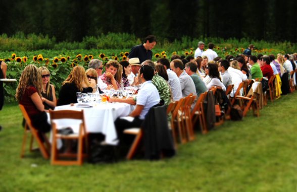 GOODS | Araxi Lost Lake Long Table Dinner To Pair With Le Vieux Pin & La Stella Wines
