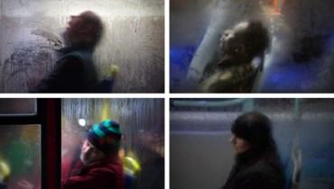 SMOKE BREAK #1129   Photo Series Sees Transit Passengers Through A Foggy Haze