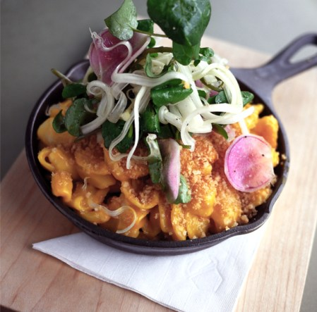 "GOODS | ""The Acorn"" Tables New Menu And Adapts Mac & Cheese For Meatless Monday"