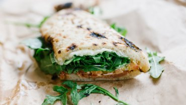AWESOME THING WE ATE #978 | Via Tevere's 'Saltimbocca' Pizzawiches At Farmhouse Fest