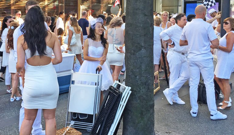 TEA & TWO SLICES | On Gawking At Yuppies And The Symbolic Silliness Of Diner En Blanc