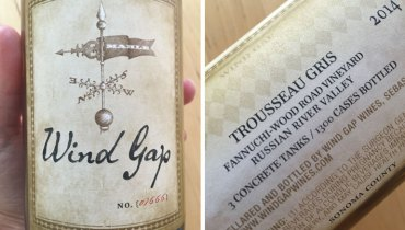 AWESOME THING WE DRANK #711 | Wind Gap Trousseau Gris From The Russian River Valley