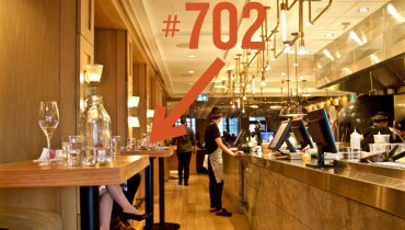 BEST SEAT IN THE HOUSE   Table No. 702 At Nightingale – A Private Side-By-Side Boothlet