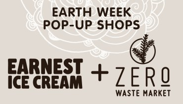 GOODS | Earnest Ice Cream Set To Sweeten Pop Up Shops & Colabs Celebrating Earth Day