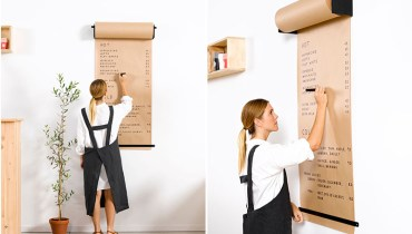 COOL THING WE WANT #501 | This Butcher Paper Scroll For Making 'To-Do' Lists At Home