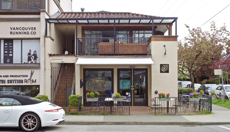 DINER | Kitsilano's Celebrated 'Cacao' Gets Set To Open Second Floor Lounge Next Week