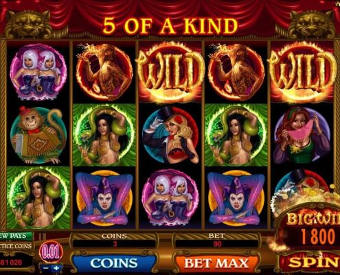 scr888 Download the Twisted Circus Slot Enjoy the Dreamy Show!