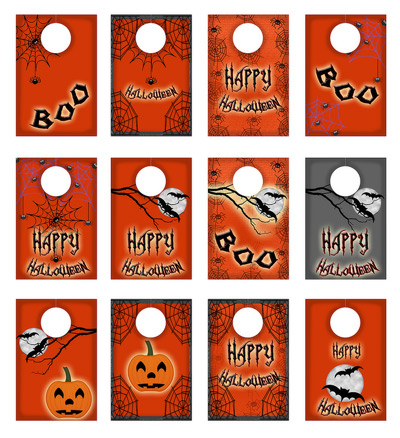 freebie halloween wine glass tags scrap booking