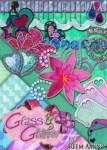 Freebie   Glass & Glitter Digital Scrapbooking Kit