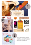 Freebies | 3 Great Printables for Photography and Scrapbooking