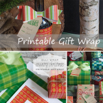 Freebies | Printable Gift Wrapping from ellinée