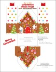 Freebie | 6 Printable Gingerbread House Designs