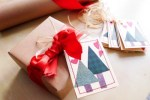 Tutorial   Trees and Hearts Gift Tags