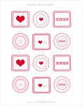 Free Valentine's Day Printables from Warm Hot Chocolate