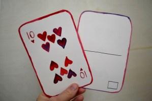 Printable Playing Card Template