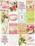 Freebie | Printable Valentine's Day Cards from Webster's Pages