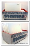Tutorial | Decorate a Box for Storing Your Stamps