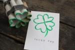 Tutorial | DIY Four Leaf Clover Stamp
