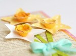 Tutorial | Five Ways to Make Paper Flowers by Lisa Storms