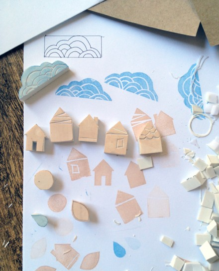 Tutorial - How to Carve Your Own Stamps
