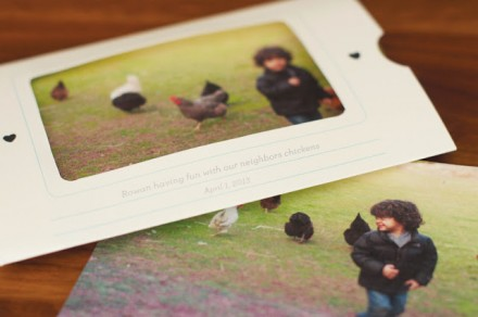 Printable Envelope Photo Mailer from little monster